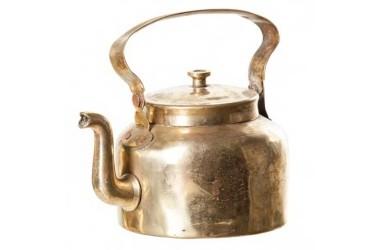nádoby z mosazi a mědi