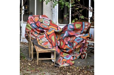 Přehozy plédy deky
