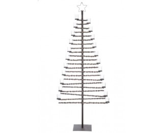 obrázek Vánoční strom s 22 svícny