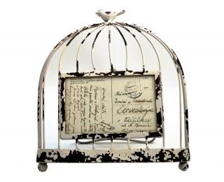 obrázek Rámeček na fotky ptačí klec