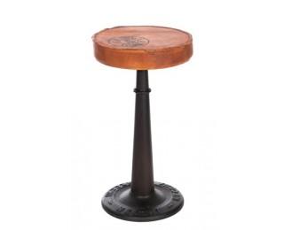 obrázek Barová kovová židle