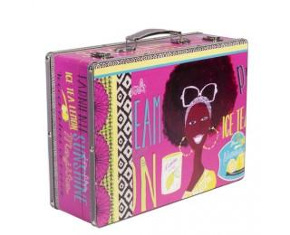 obrázek Dekorativní kufr v afro stylu