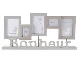 obrázek Fotorámeček na 5 fotek Bonheur