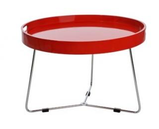 obrázek Odkládací stolek červený