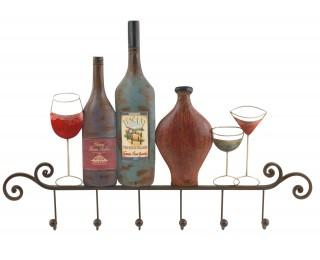 obrázek Gigantický nástěnný věšák pro milovníky vína