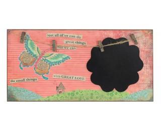 obrázek Tabulka na vzkazy butterfly