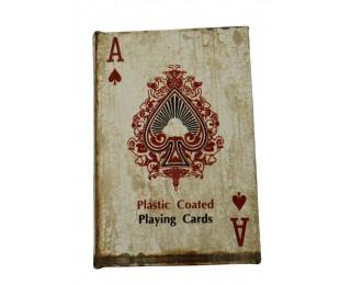 obrázek Krabička s pokerovými kartami eso
