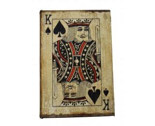 obrázek Krabička s pokerovými kartami král