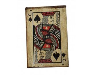 obrázek Krabička s pokerovými kartami junek