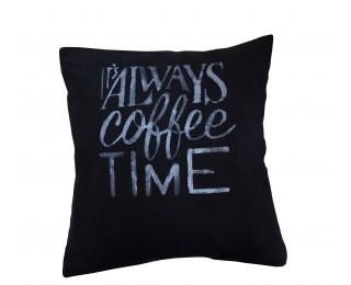 obrázek Povlak na polštář coffee time