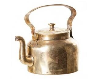 obrázek Čajová konvice z mosazi