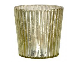 obrázek Svícen na čajovou svíčku vroubkovaný