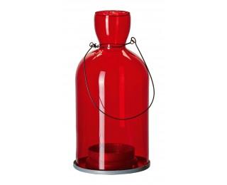 obrázek závěsný svícen červený velký