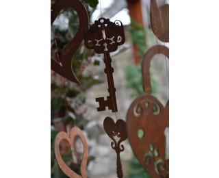 obrázek závěsná dekorace klíče