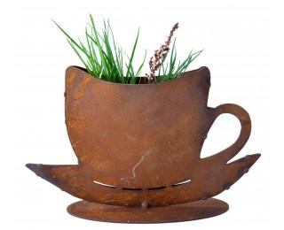 obrázek Šálek s podšálkem na bylinky
