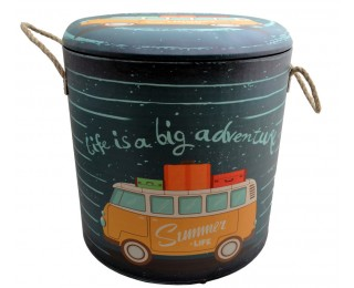 obrázek Taburet pro děti adventure velký s úložným prostorem