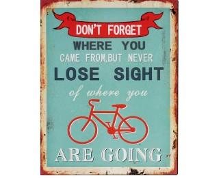 obrázek Plechová cedule bicycle 2