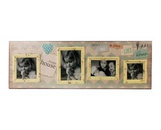 obrázek Fotorámeček na zeď na 4 fotografie
