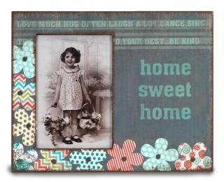 obrázek Fotorámeček home sweet home