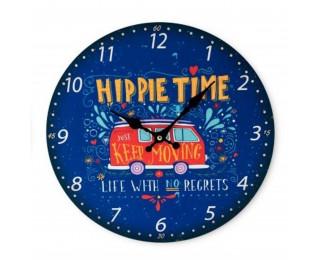obrázek Nástěnné hodiny hippie time