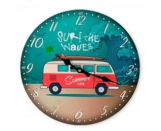 obrázek Nástěnné hodiny summer time