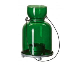 obrázek závěsný svícen zelený malý