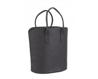 obrázek černá plstěná taška