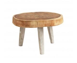 obrázek Odkládací stolek kulatý masiv