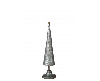 obrázek vánoční kovový stromeček 47 cm