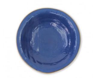 obrázek talíř hluboký modrý 24 cm