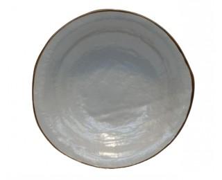 obrázek talíř hluboký šedý 24 cm