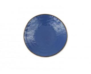 obrázek talíř dezertní modrý 20 cm