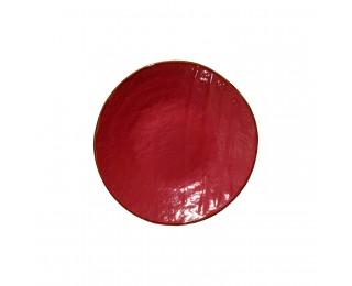 obrázek talíř dezertní červený 20 cm