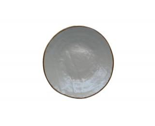obrázek talíř dezertní šedý 20 cm