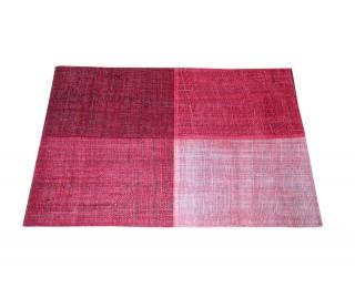 obrázek Prostírání na stůl červené juta 45 x 30 cm