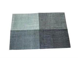 obrázek Prostírání na stůl šedé juta 45 x 30 cm
