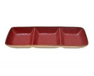 obrázek servírovací misky červené