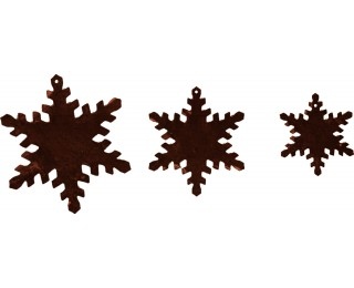 obrázek závěsná vánoční dekorace sněhové vločky