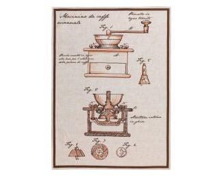 obrázek Lněná kuchyňská utěrka mlýnek
