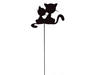 obrázek kovový zápich kočky