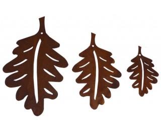 obrázek závěsná dekorace dubové listy