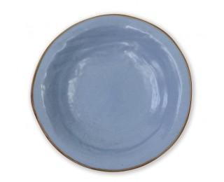 obrázek talíř hluboký světle modrý 24 cm