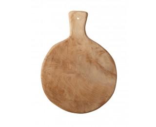 obrázek Kulaté prkénko z teakového dřeva M