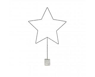 obrázek vánoční hvězda svítící 94cm