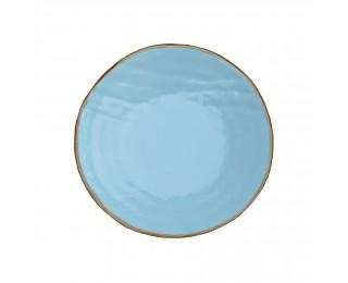 obrázek tyrkysový talíř dezertní 20 cm