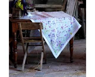 obrázek Lněný ubrus levandule