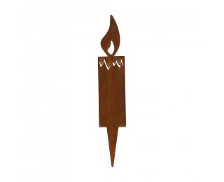 obrázek Zápich svíčka do truhlíku větší 20cm