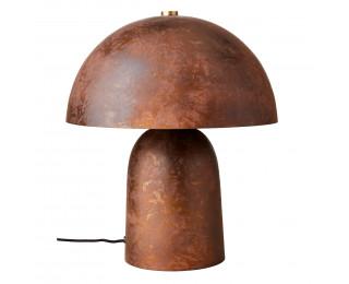 obrázek Stolní lampa vintage rezavá hřib