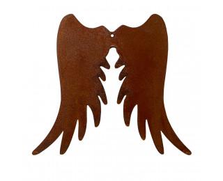 obrázek Kovová andělská křídla s rezavou patinou 20 cm